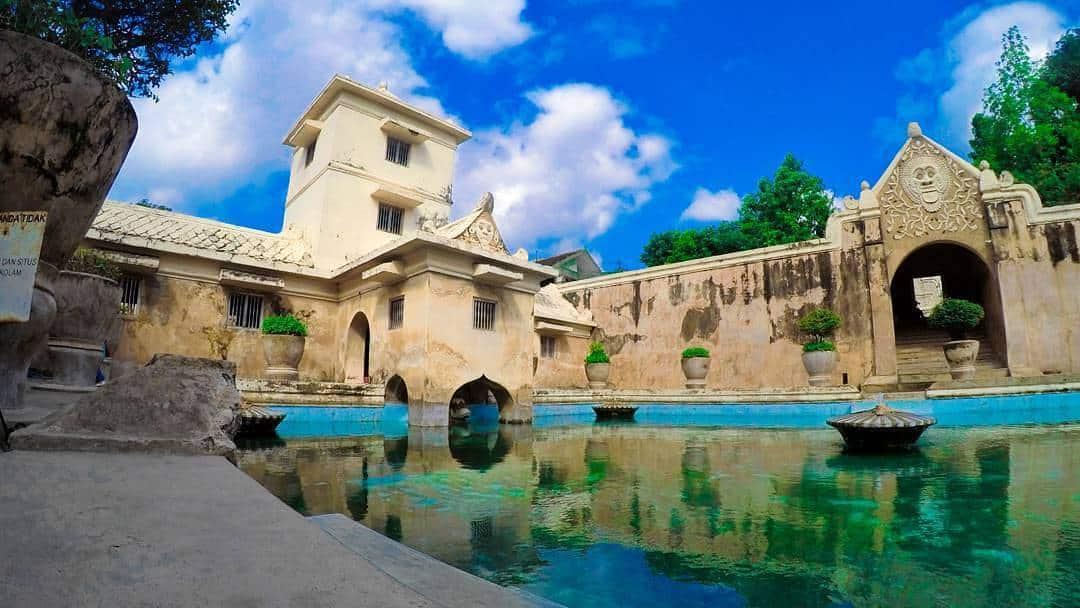 spot foto Water Castle Taman Sari