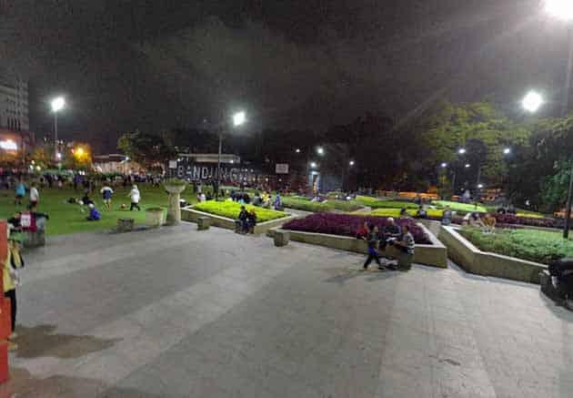 Alun Alun Bandung Malam