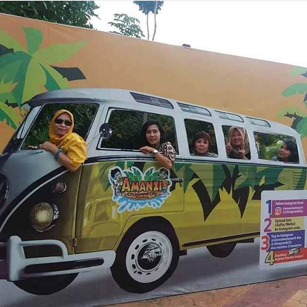 Harga Tiket Masuk dan Peta Lokasi Amanzi Waterpark Palembang 18