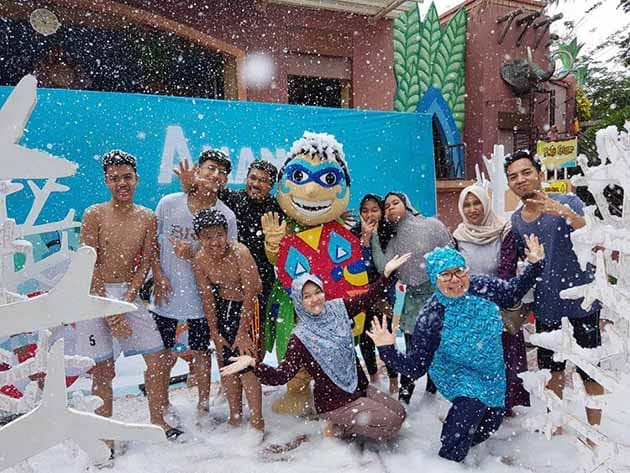 Harga Tiket Masuk dan Peta Lokasi Amanzi Waterpark Palembang 20