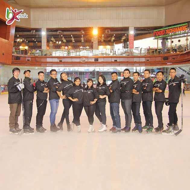 Ice Skating BX Rink Bintaro 6