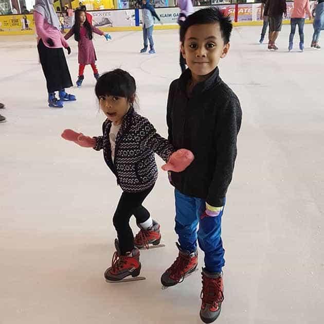 Ice Skating BX Rink Bintaro 11