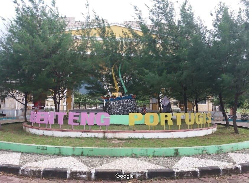 Benteng-Portugis-Tukisan