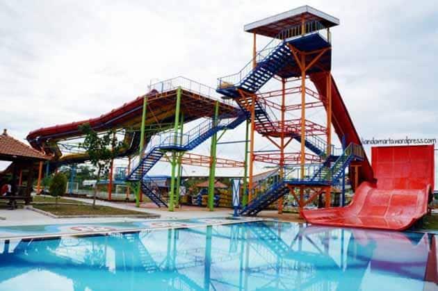 Harga Tiket Masuk dan Peta Lokasi Boombara Waterpark Pekanbaru 14