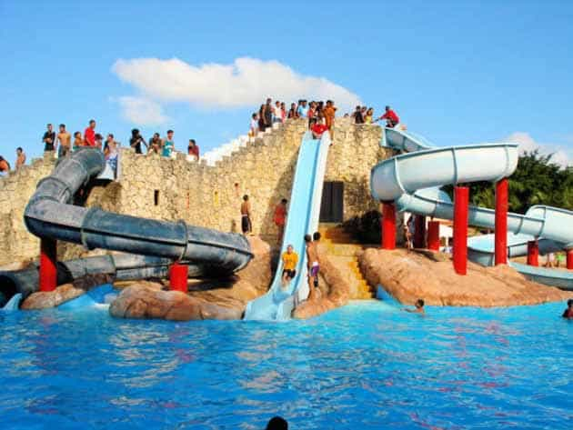 Columbus Waterpark Seluncuran