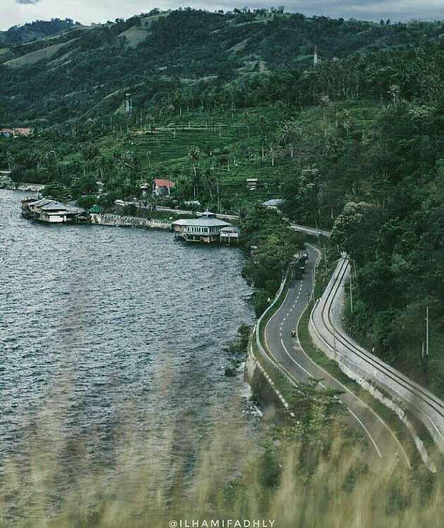 Danau Singkarak Jalan