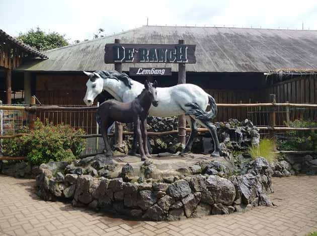 De'Ranch Lembang Kuda Putih