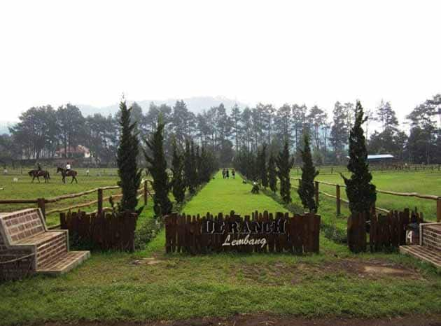 De'Ranch Lembang Lurus