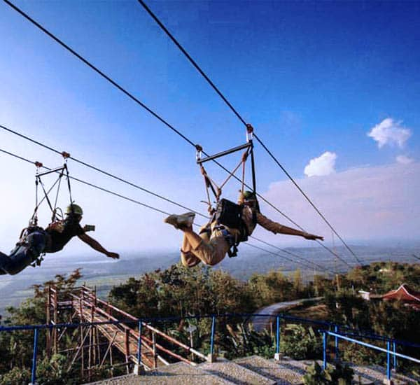 Green Village Gedangsari Flying Fox