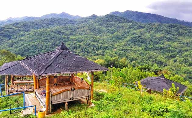 Green Village Gendangsari Gazebo