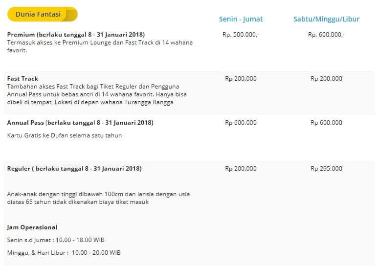 Daftar Wahana Taman Impian Jaya Ancol, Harga Tiket Masuk + Info Promo Dufan 2