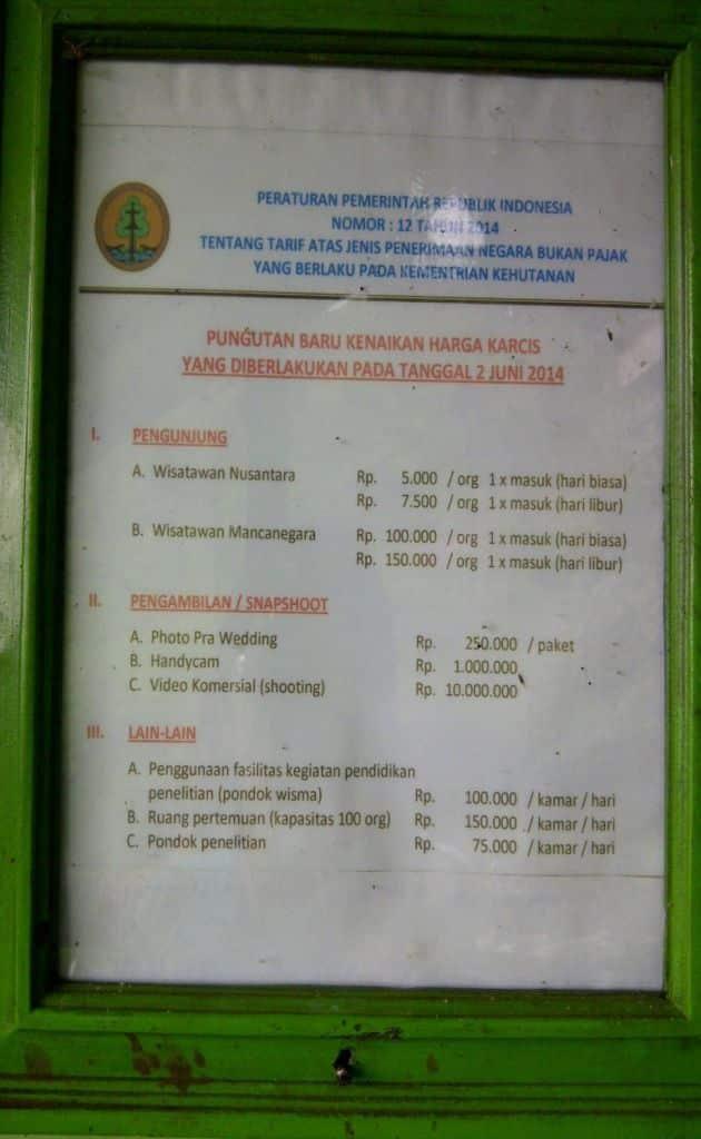 Harga Tiket Masuk dan Jalan Menuju Taman Wisata Telaga Warna Puncak Bogor 2