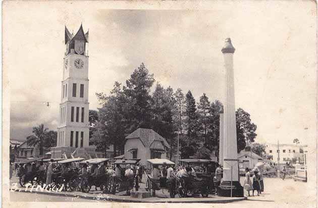 Jam Gadang Bukittinggi tahun 1950 1970