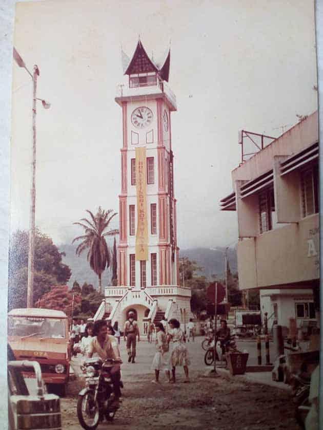 Jam Gadang Bukittinggi tahun 1983 1985