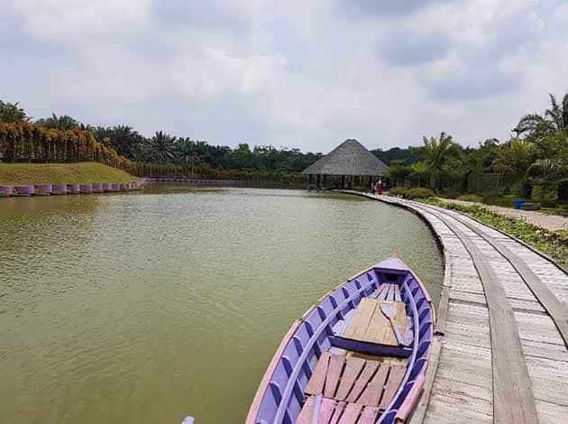 Harga Tiket Masuk dan Peta Lokasi Jambi Paradise Wisata Baru Jambi 5