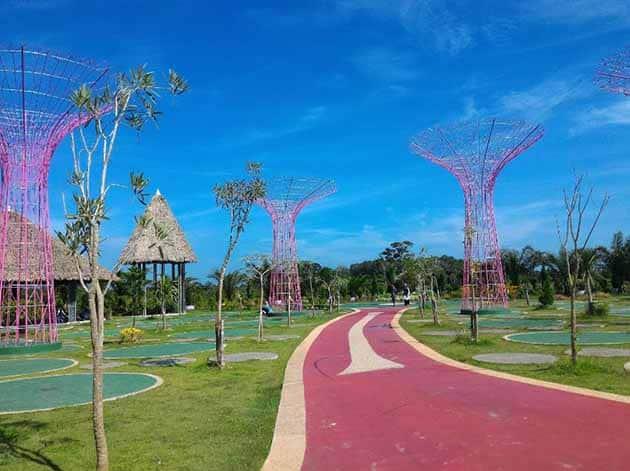Harga Tiket Masuk dan Peta Lokasi Jambi Paradise Wisata Baru Jambi 8