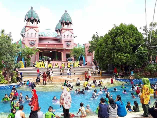 Harga Tiket Masuk dan Peta Lokasi Amanzi Waterpark Palembang 21