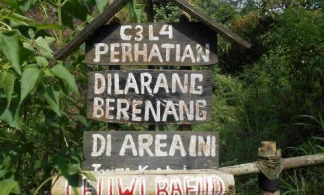 Sejarah dan Misteri Wisata Curug Tilu Leuwi Opat Parongpong Bandung + Tiket Masuk Lokasi 5
