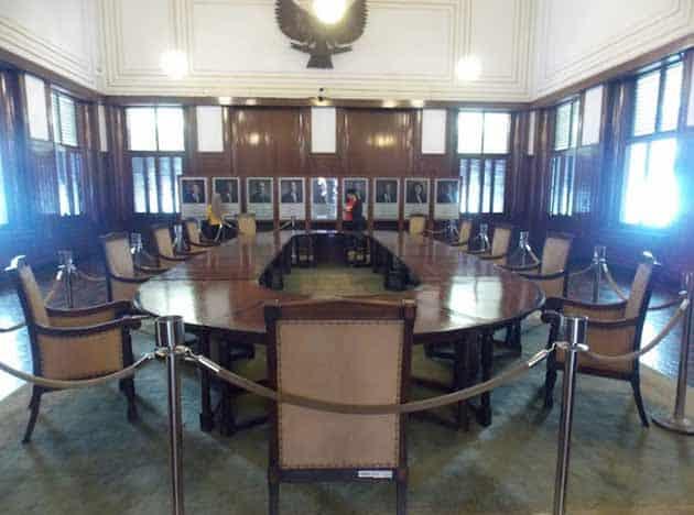 Museum Bank Mandiri Meja