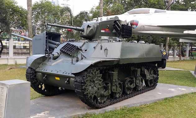 Museum Satria Mandala Tank