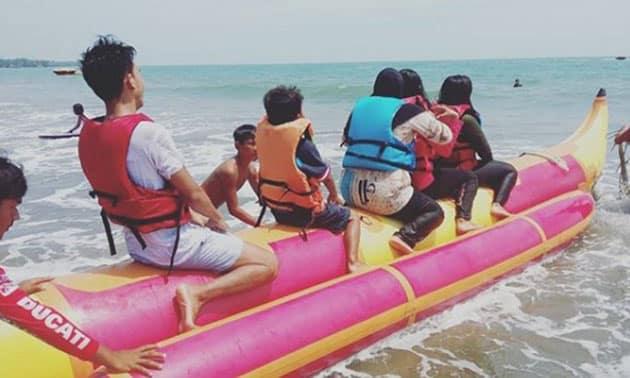 Pantai Sambolo Anyer Boat