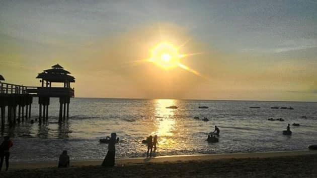 Pantai Sambolo Anyer Mata