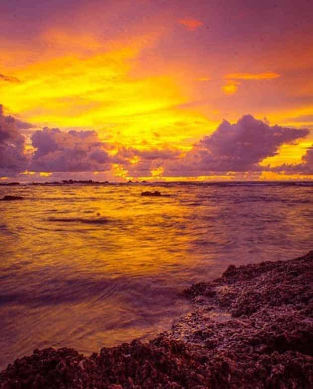 Pantai Sawarna Sunset