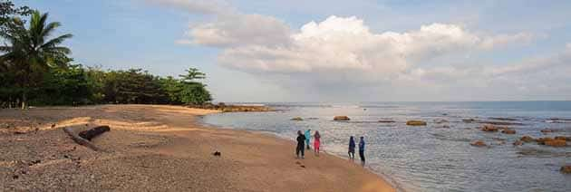 Pantai Tanjung Lesung Panjang