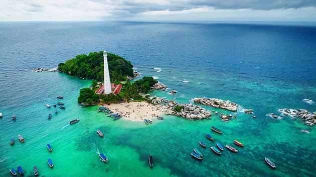 Liburan Seru ke Mercusuar Pulau lengkuas Belitong, Harga Tiket + Penginapan 3