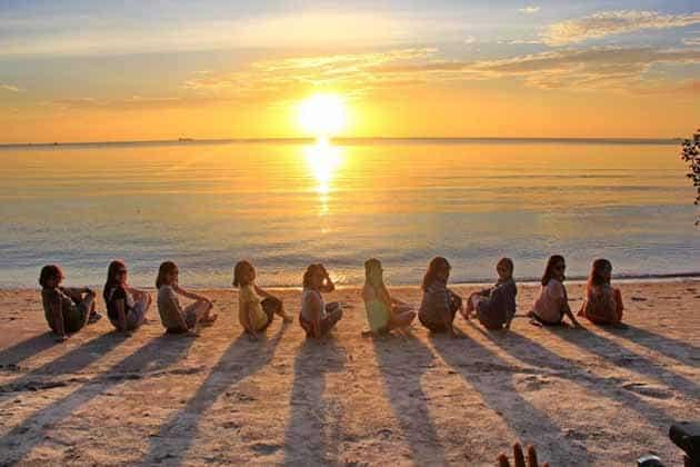 Pantai Tanjung Pendam Tempat Terbaik Melihat Sunset, Peta Lokasi + Tiket Masuk 12