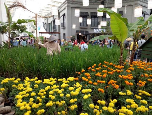 Paris Van Java Mall Bandung Sawah