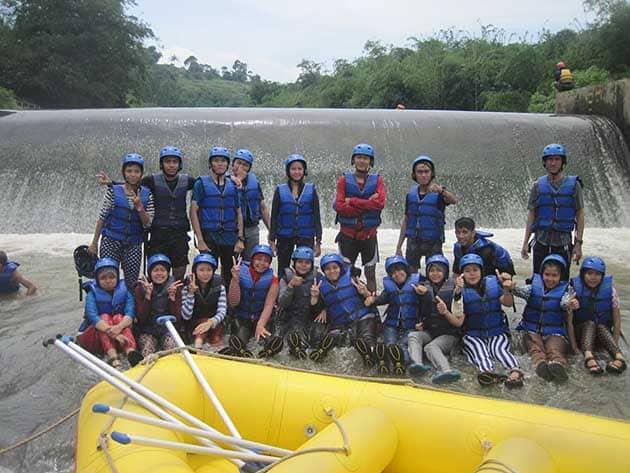 Rafting Cisadane Semangat