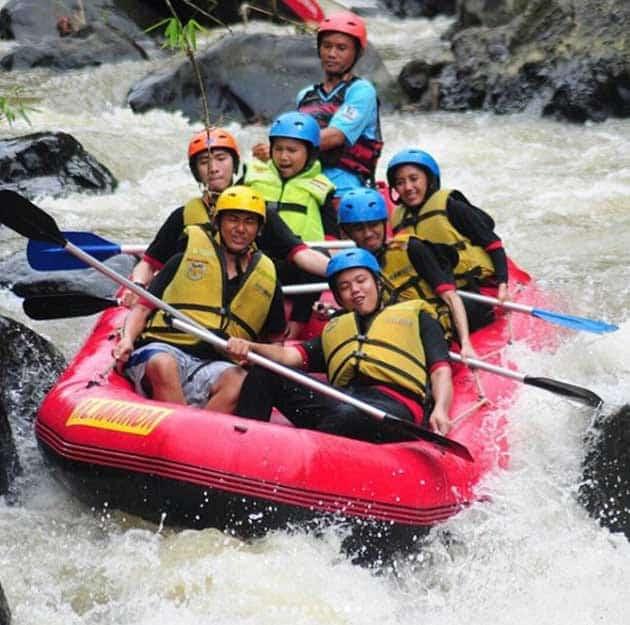 Rafting Cisadane Serem