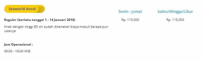 Daftar Wahana Taman Impian Jaya Ancol, Harga Tiket Masuk + Info Promo Dufan 8