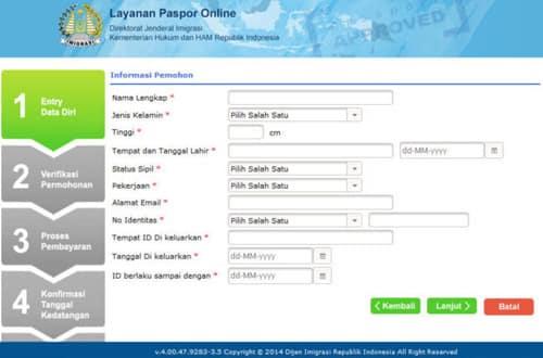 Cara Membuat Paspor Secara Manual dan Online 2