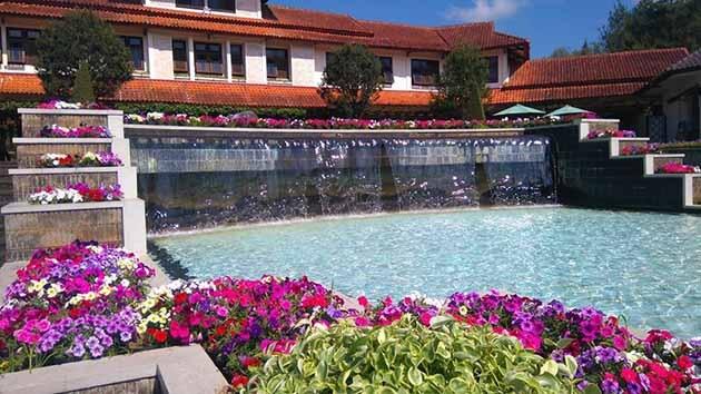 Taman Bunga Nusantara Tangga