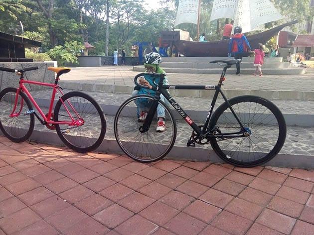 Taman Potret Bersepeda