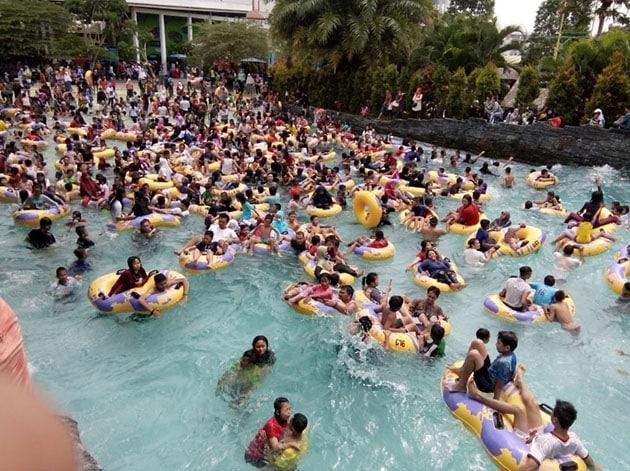 Teejay Waterpark Ramai