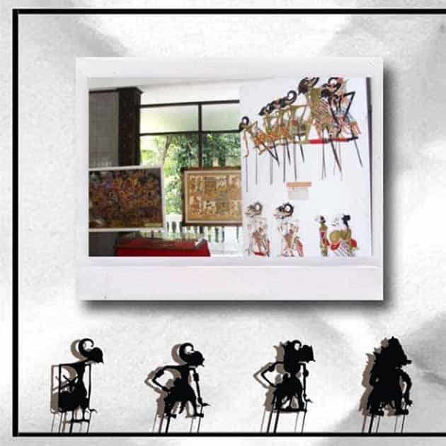 museum wayang jakarta vector