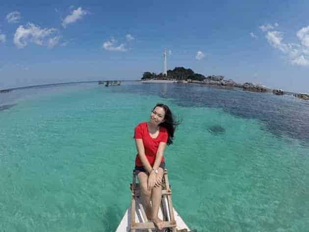 Liburan Seru ke Mercusuar Pulau lengkuas Belitong, Harga Tiket + Penginapan 6