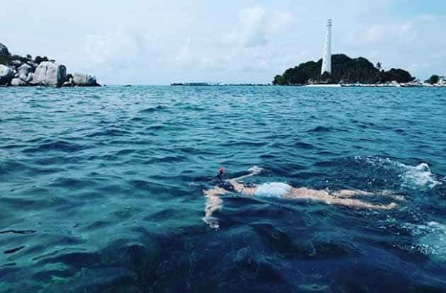 Liburan Seru ke Mercusuar Pulau lengkuas Belitong, Harga Tiket + Penginapan 7