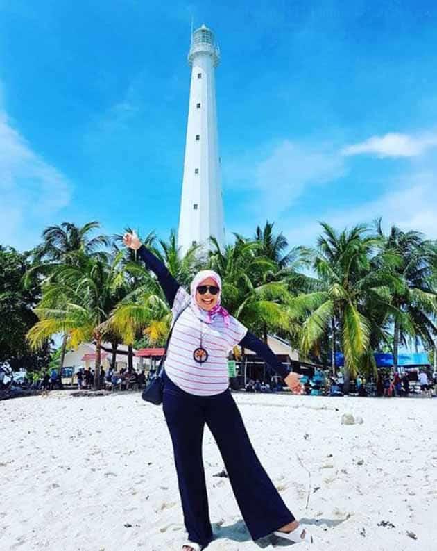 Liburan Seru ke Mercusuar Pulau lengkuas Belitong, Harga Tiket + Penginapan 8