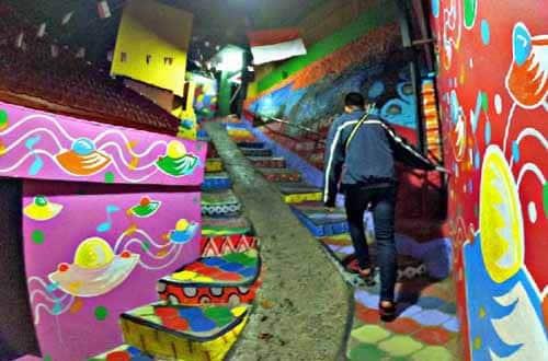 tangga warna jodipan