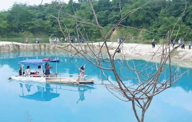 Alamat dan Rute ke Telaga Biru Cisoka Tangerang + Harga Tiket Masuk 1