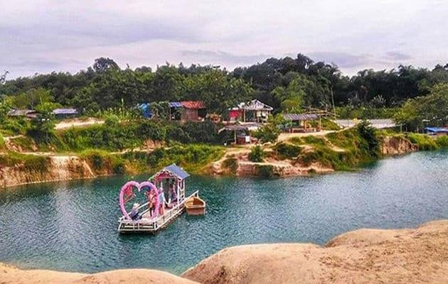 Alamat dan Rute ke Telaga Biru Cisoka Tangerang + Harga Tiket Masuk 3