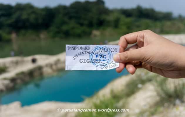Alamat dan Rute ke Telaga Biru Cisoka Tangerang + Harga Tiket Masuk 2