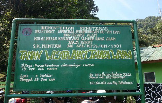 Harga Tiket Masuk dan Jalan Menuju Taman Wisata Telaga Warna Puncak Bogor 1