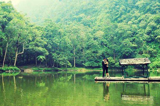 Harga Tiket Masuk dan Jalan Menuju Taman Wisata Telaga Warna Puncak Bogor 13