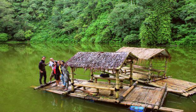 Harga Tiket Masuk dan Jalan Menuju Taman Wisata Telaga Warna Puncak Bogor 14