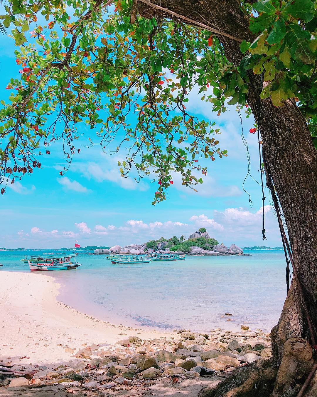Foto Pulau Lengkuas Belitong